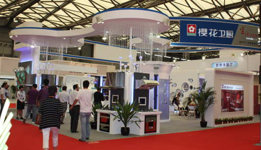 非凡科技卓越体验,开启卫厨生活新时代——樱花闪耀2011上海国际五金展